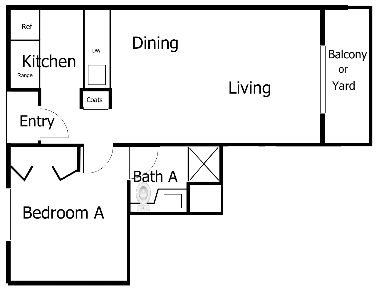 Floor Plans Pairadice Apartments